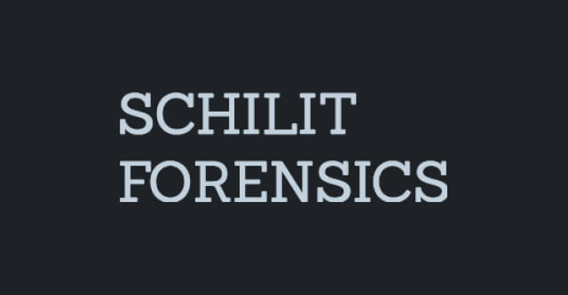 Schilit Forensics