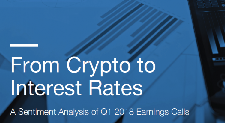 crypto interest rates Sentieo